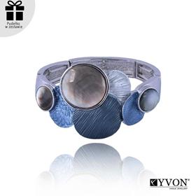 Obrázok pre výrobcu Bransoletka z metalu i muszli B03506