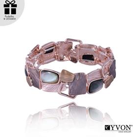 Obrázok pre výrobcu Bransoletka z metalu i muszli B03503