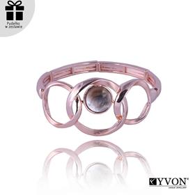 Obrázok pre výrobcu Bransoletka z metalu i muszli B03501