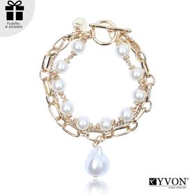 Obrázok pre výrobcu Bransoletka lancuch perla B03062