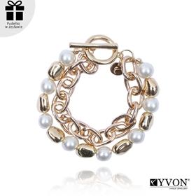 Obrázok pre výrobcu Bransoletka lancuch perla B03061