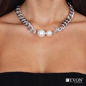 Obrázok pre výrobcu Naszyjnik lancuch perla N03060