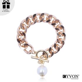 Obrázok pre výrobcu Bransoletka lancuch perla B03059