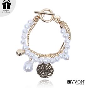 Obrázok pre výrobcu Bransoletka lancuch perla B03058