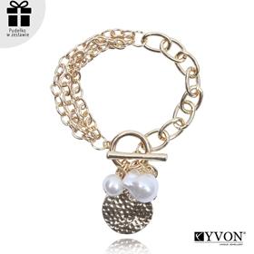 Obrázok pre výrobcu Bransoletka lancuch perla B03057