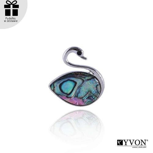 Image sur Broszka z muszli abalone BR03048