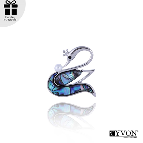Picture of Broszka z muszli abalone BR03031