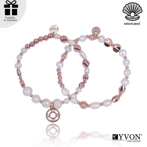 Изображение Zestaw bransolet perła naturalna B02691