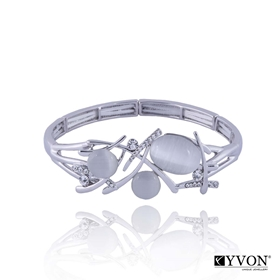 Obrázok pre výrobcu Bransoletka z kamieniem kwarcowym B02633