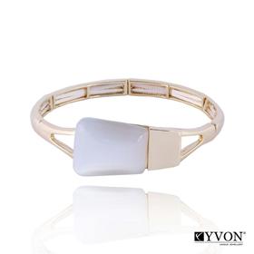 Obrázok pre výrobcu Bransoletka z kamieniem kwarcowym B02630