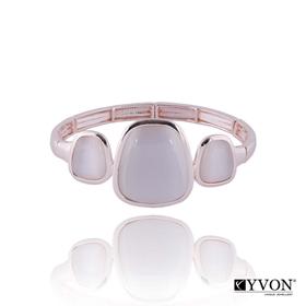 Obrázok pre výrobcu Bransoletka z kamieniem kwarcowym B02627