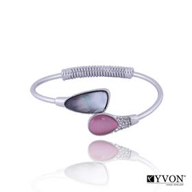 Obrázok pre výrobcu Bransoletka z kamieniem kwarcowym B02625