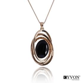 Obrázok pre výrobcu Naszyjnik z kamieniem kwarcowym N02624