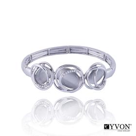 Obrázok pre výrobcu Bransoletka z kamieniem kwarcowym B02623