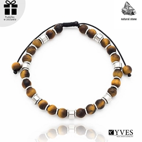 Obrázok pre výrobcu Bransoletka męska z kamieni naturalnych BM02015